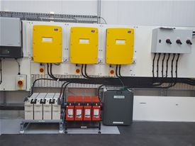 Three Phase Inverter System for Solar Panels