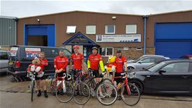 Sponsored Cycle Ride for Pudsey Completed